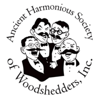 AHSOW Logo - 4 men singing